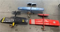 11 - LOT OF 3 AIRPLANES W/MOTORS - SEE PICS 4 COND
