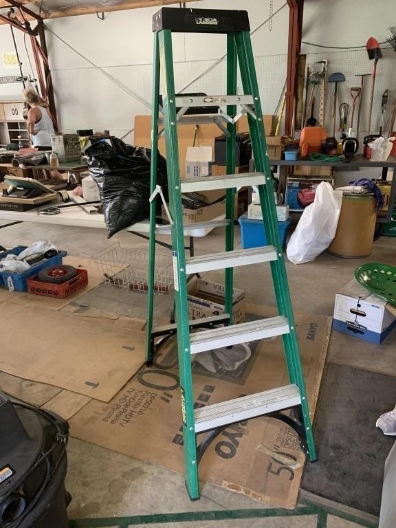 Gorilla 6 Ft Step Ladder United Edge Real Estate Auction Co Llc