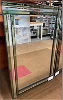 NEW WMC PAIR OF BEAUTIFUL WALL MIRRORS ($279.90)