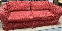 11 - BEAUTIFUL RED SOFA