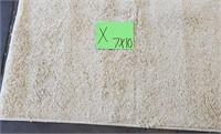 c - CREAM COLOR AREA RUG 7'X10' (X)