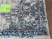 C - NEW SOFIA COLLECTION BLUE/WHITE 9X12 RUG (U)