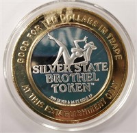 SHADY LADY RANCH SILVER STRIKE COIN
