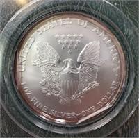 2002 & 2003 SILVER AMERICAN EAGLE DOLLARS (10)