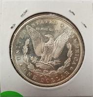 "1880 ""S"" - MORGAN SILVER DOLLAR (4)"