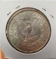 1896 - MORGAN SILVER DOLLAR (5)