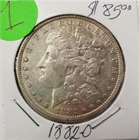 "1882 ""O"" - MORGAN SILVER DOLLAR (1)"