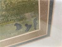 714  - SIGNED/FRAMED SAILBOAT WALL ART