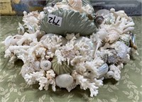 792 - BEAUTIFUL SEASHELL WALL DECOR - SEE PICS