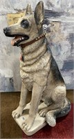 793 - GERMAN SHEPARD WATCH DOG STATUE