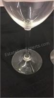 Pair of Riedel Trump Winery Wine Glasses