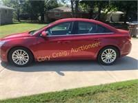 2012 Chevrolet Cruze, 4 door,