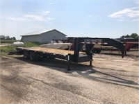 Load Master 5th wheel Flat bed Trailer