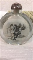 2002 The Year of the Horse Snuff Bottle