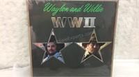 Waylon & Willie WWII LP Factory Sealed