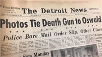 Assorted Detroit News/Detroit Free Press