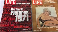 Pair of Vintage Life Magazines Inc Remember