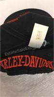 Pair of Harley Davidson Leather Belts & Baseball