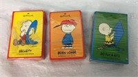 Trio of Vintage Charlie Brown/Hallmark Peanuts