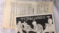 Vintage Facts In Five Game