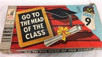 Vintage Go to the Head of the Class Game