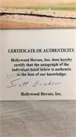 Autographed Orioles Scott Erickson Magazine &