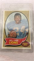 Assorted Detroit Lions Football Cards