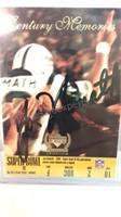 Autographed Jo Namath Football Card