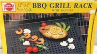 BBQ Grill Rack & Shishkabob Set NIB