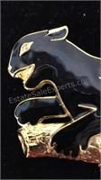 Large Doreen Ryan Black Panther  Brooch/Pin