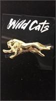Large Rhinestone Pin and 2 Wildcats Pins
