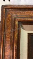 Zogsa  Framed Painting w/Light 34x30