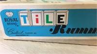 Vintage Tile Rummy Game