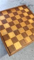 Vintage Wood Game Table w/Screw On/Off Legs