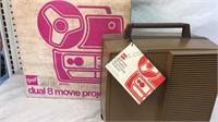 Vintage Gaf Dual 8 Movie Projector