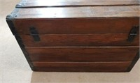 Chest With Contents Located In The Master Bedroom
