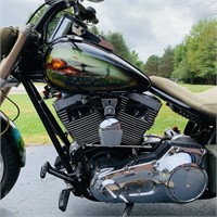 Custom Motorcycle Built by Mike Driscoll