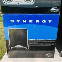 Klipsch Synergy Surround Sound,Sony Control Center