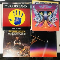 48 LPs assorted Rock Records, Beatles Import etc