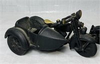 2 Cast Iron Motorcycles, No Markings