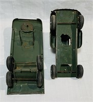 Buddy L Army Supply Corps Truck and Trailer