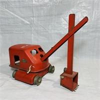Tonka Toys Metal Crane, Crank is in great shape