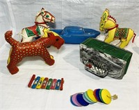 Lot of vintage baby/kid Toys