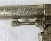 2 Hubley Colt 38 Cap Guns w/ Belt and Holsters