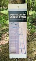 NEW Ameristep Sportsman's 15 ft Ladder Stand,