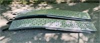 "Ohio Steel Aluminum Ramps, 7 ft long x 12.5""w"