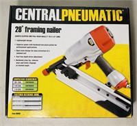 Framing Nailer, 28 degree, Central Pneumatic