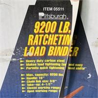 Ratcheting Load Binder, 920 lb, NEW