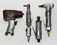 Lot of 4 Air Tools