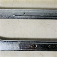 "6 Pittsburgh 1 3/8"" - 2 "" Wrenches, 12 pt,"